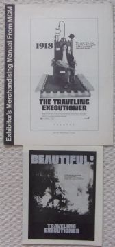 Traveling Executioner, Original Pressbook + Herald, Stacy Keach, '70